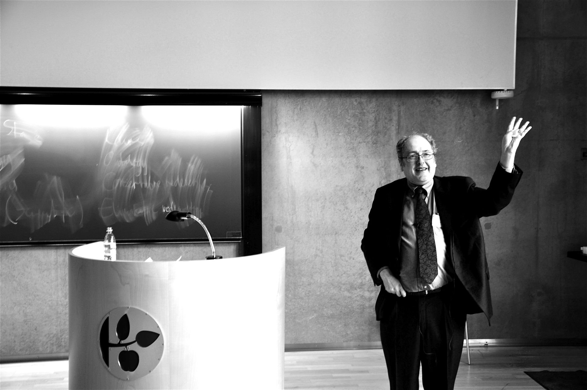 Brian Leiter presenting at the Danish Philosophical Association, Odense, March 2013